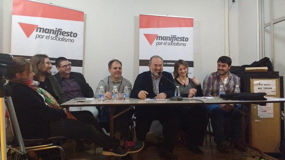 Presentación de El Manifiesto por el Socialismo