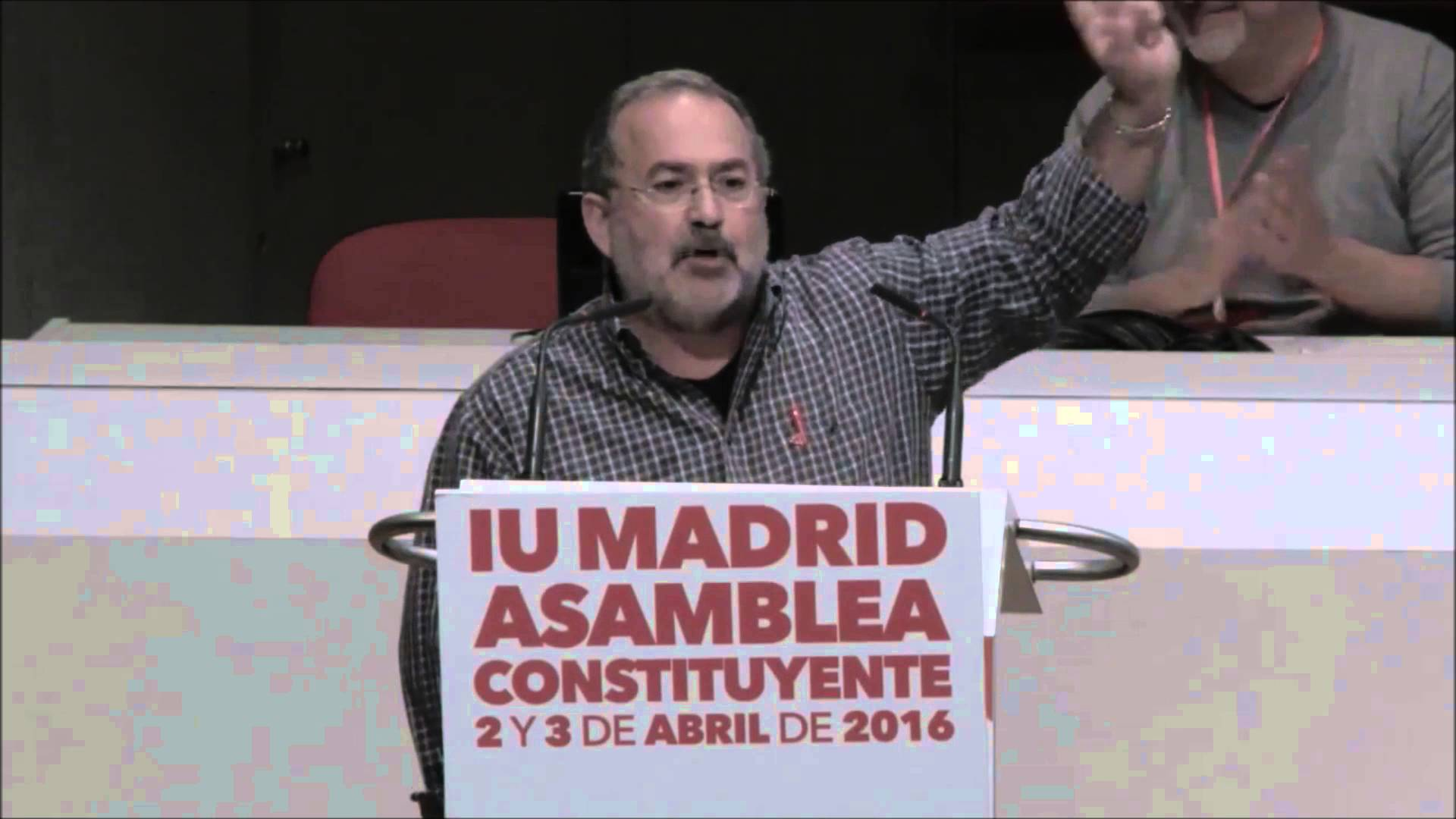 Intervención de Alberto Arregui en la Asamblea de IU Madrid