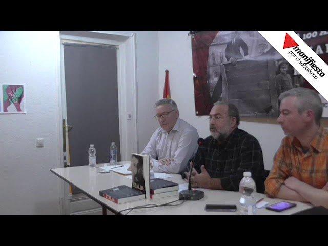 """Presentación del libro """"Stalin"""", de León Trotsky"""