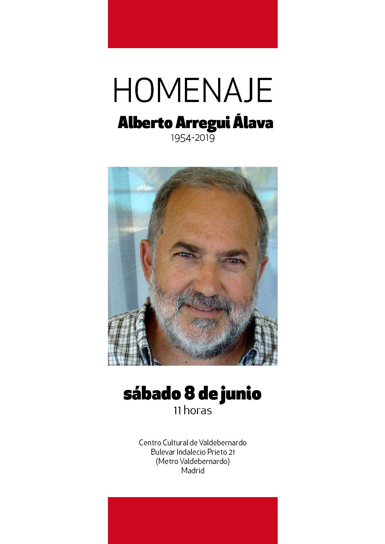 Homenaje a Alberto Arregui