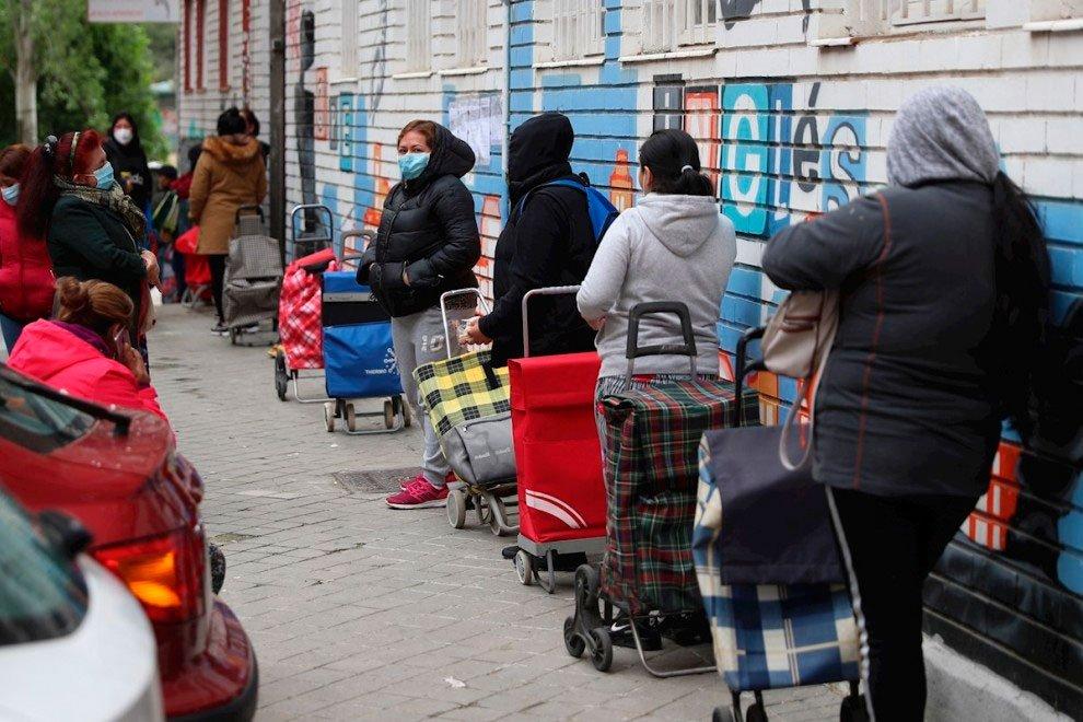 Madrid. Aluche y Vicálvaro piden reforzar servicios sociales y  crear despensas municipales