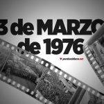 El 3 de Marzo de hace 45 años