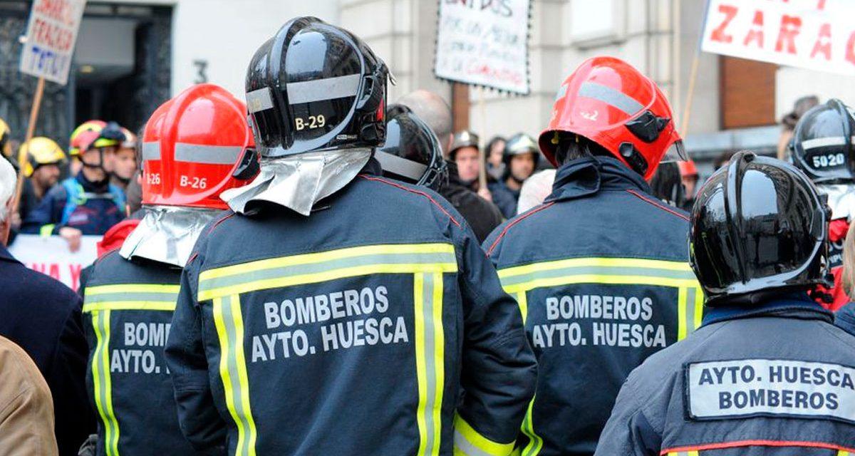 Un bombero de Huesca rechaza su condecoración y escribe carta abierta al Alcalde de la ciudad