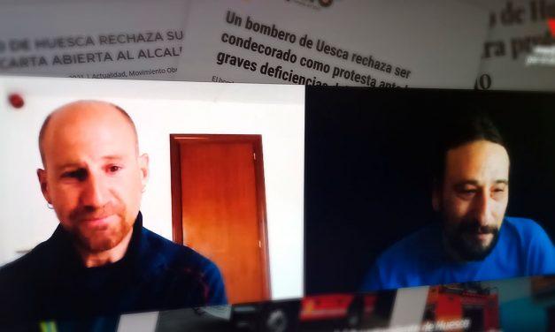 Entrevista a Mario Gonzalvo, bombero de Huesca