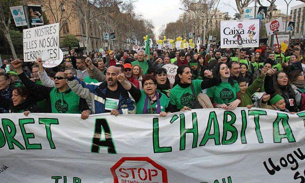 20M. Jornada de lucha por el derecho a la vivienda