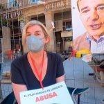 Raquel de La Riva, huelga de hambre contra el abuso de la temporalidad